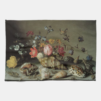 Flowers, Shells and Insects Balthasar van der Ast Towel