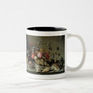 Flowers, Shells and Insects Balthasar van der Ast Two-Tone Mug