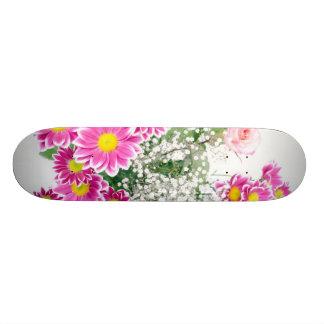 Flowers Custom Skateboard