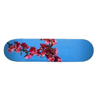 Flowers Custom Skate Board