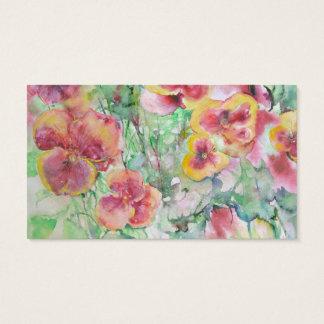 Flowers. Summer dream Business Card