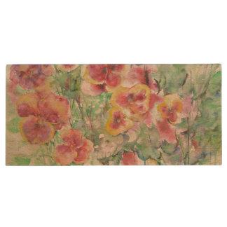 Flowers. Summer dream Wood USB 3.0 Flash Drive