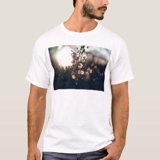flowers sunset range sunlight T-Shirt
