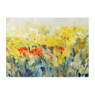 Flowers Sway II Acrylic Print