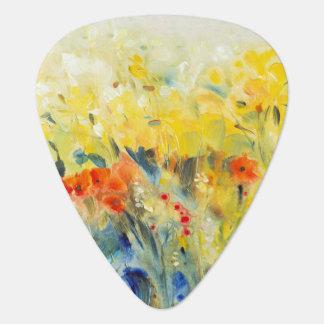 Flowers Sway II Guitar Pick