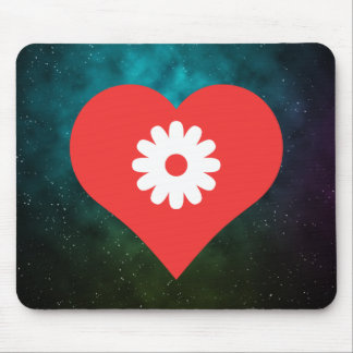 Flowers Symbol Mouse Pad