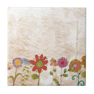 Flowers Ceramic Tiles