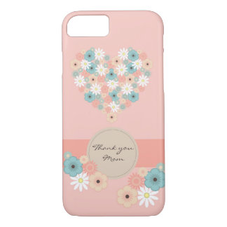 Flowers to say Thank you Mom iPhone 8/7 Case