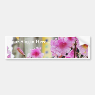 Flowers Towers Petals Arches Leaf Leaves Car Bumper Sticker