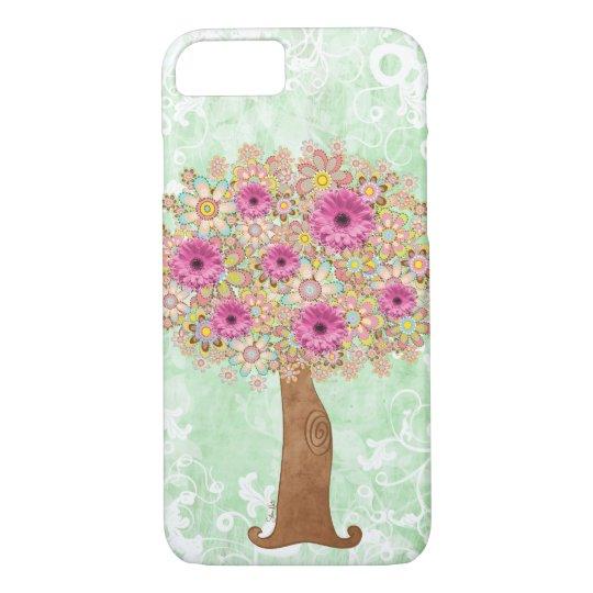 Flowers Tree iPhone 7 Case