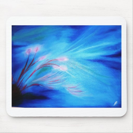 Flowers under the water - Beginning of Spring Mousepad