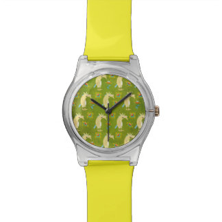 Flowers & Unicorns Watch