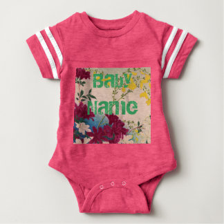 Flowers Vine Love Design Class Baby Shower Destiny Baby Bodysuit