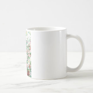 Flowers Watercolour and Pencil Coffee Mug