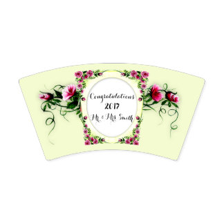 FLOWERS WEDDING 2  Paper Cup, 9 oz