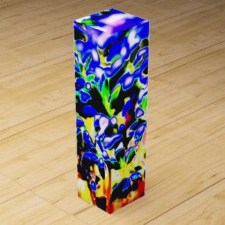Flowers Wine Gift Box