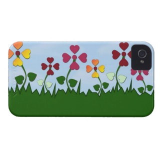 Flowers with Heart-Shaped Petals Blackberry Case