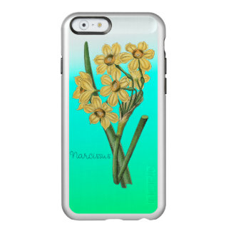 Flowers Yellow Narcissus Vintage Bouquet Incipio Feather® Shine iPhone 6 Case