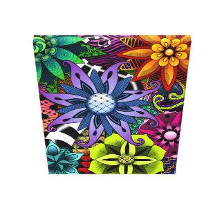 Flowertastic Canvas Canvas Prints