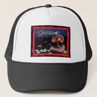 flowertree trucker hat