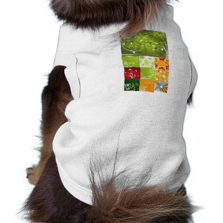 flowervector sleeveless dog shirt