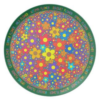 flowery2 plate