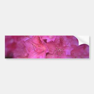 Flowery Arrow Bumper Sticker