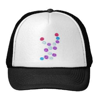 flowery bubbles cap