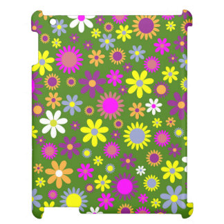 Flowery field pattern cover for the iPad 2 3 4