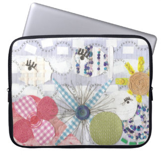 Flowery Fish World 15 Inches Laptop Sleeve