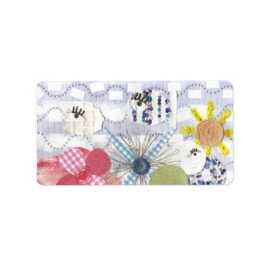 Flowery Fish World Address Labels
