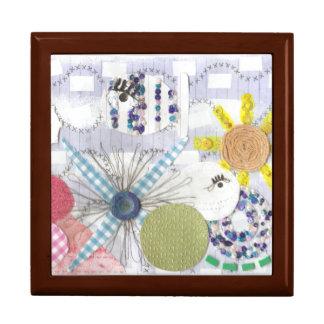 Flowery Fish World Jewellery Box