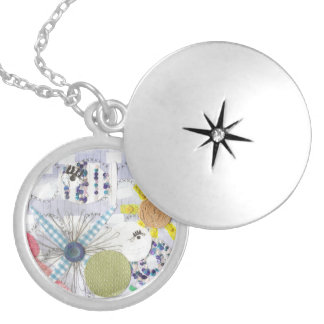 Flowery Fish World Locket