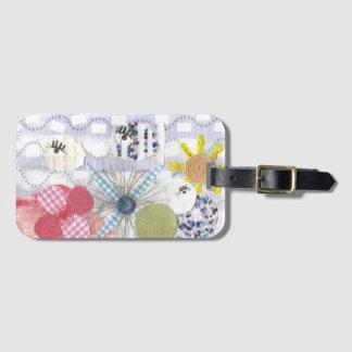 Flowery Fish World Luggage Tag