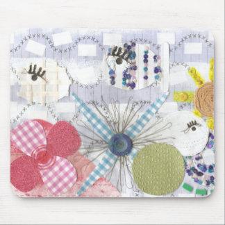 Flowery Fish World Mousepad