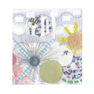 Flowery Fish World Notepad