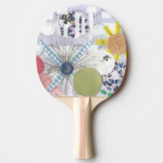 Flowery Fish World Ping Pong Bat Ping Pong Paddle