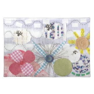 Flowery Fish World Placemat
