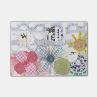 Flowery Fish World Post-It Notes