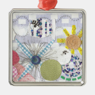 Flowery Fish World Premium Ornament