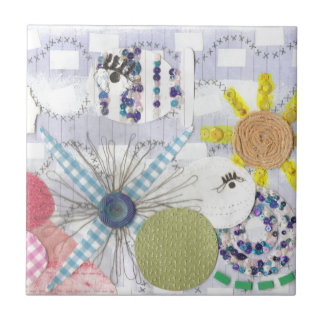 Flowery Fish World Tile