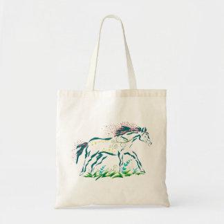 Flowery Horse bag