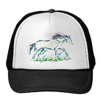 Flowery Horse hat