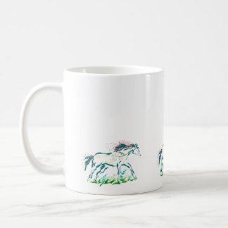 Flowery Horse * mug