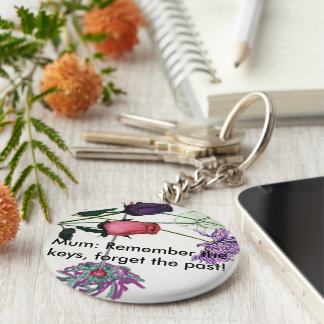 Flowery keyring for mums