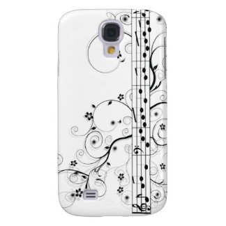 Flowery Music Galaxy S4 Case