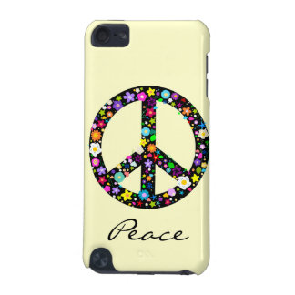 Flowery Peace Symbol iPod Touch (5th Generation) Cover