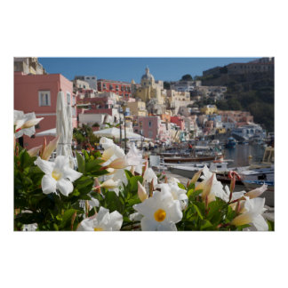 Flowery Procida Poster