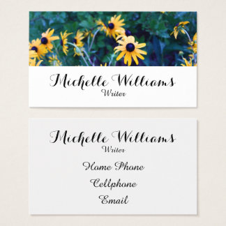 Flowery Professional Business Card