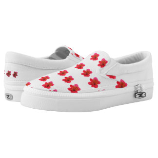 FLOWERY shoes! Slip On Shoes